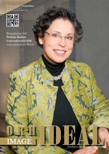 Orhideal IMAGE Magazin - November 2018