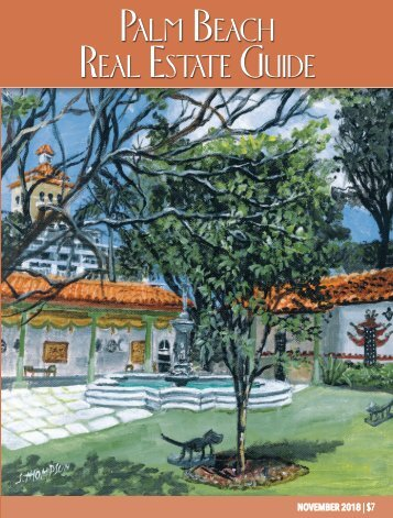 November 2018 Palm Beach Real Estate Guide