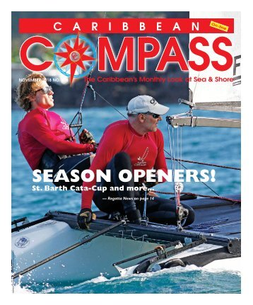 Caribbean Compass Yachting Magazine - November 2018