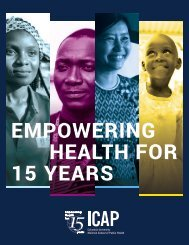 ICAP: Empowering Health for 15 Years