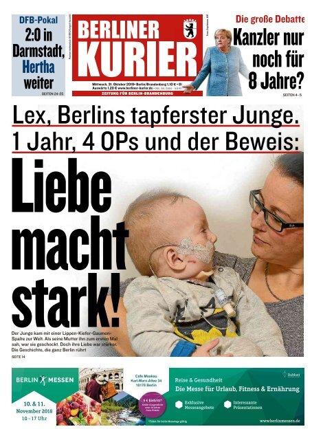 Berliner Kurier 31.10.2018