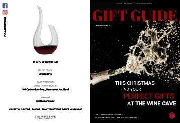 Wine Cave Gift Guide 2018