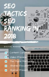 SEO TACTICS_ SEO RANKING IN 2018