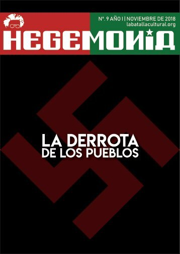 Revista Hegemonía. Año I Nº. 9