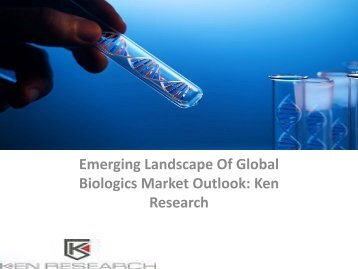 Global Biologics Market Research Report, Size, Share, Growth, Analysis, Monoclonal Antibodies Market Research Report : Ken Research