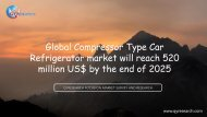 Global Compressor Type Car Refrigerator market will reach 520 million US$ by the end of 2025