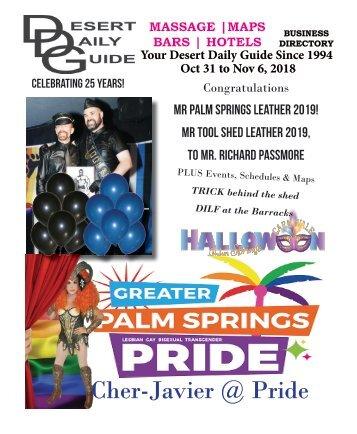 GAY PRIDE WEEK! Oct 31 to Nov 6, 2018