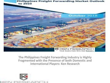 Seaport operations in Philippines, Road Transportation in Philippines, Road Transport Market in Philippines : Ken Research
