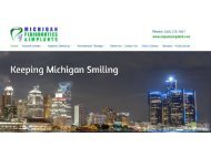 Periodontist in Troy MI | Sterling Heights Dental Implants - Michigan Periodontics & Implants