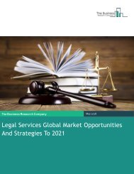 Legal Services Global Market Opportunities and Strategies 2021 Sample