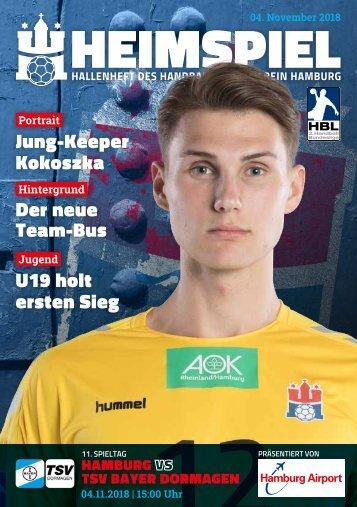 Handball Sport Verein Hamburg | Hallenheft vs. TSV Bayer Dormagen