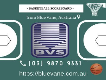 Shop now Basketball Scoreboard at a reasonable price!