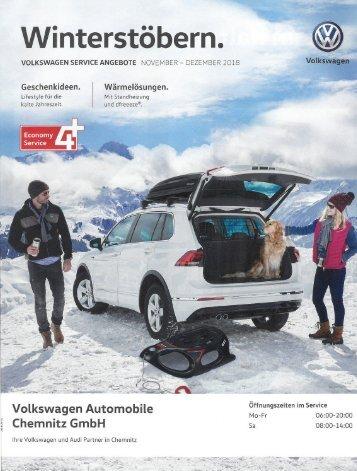 VW Autobile Chemnitz - Winterstöbern