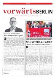 vorwärts Berlin 09-10 2018