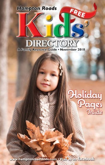 Hampton Roads Kids' Directory: November 2018