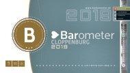 BAROMETER CLOPPENBURG | Limitierte Ausgabe 2019