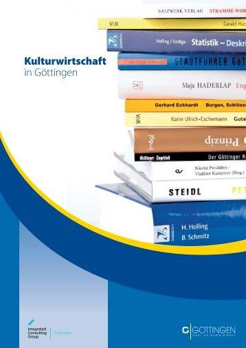 Kulturwirtschaft in Göttingen