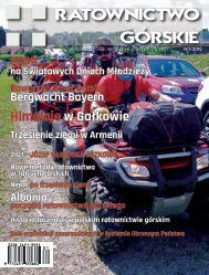 Ratownictwo Gorskie Nr 1_2016