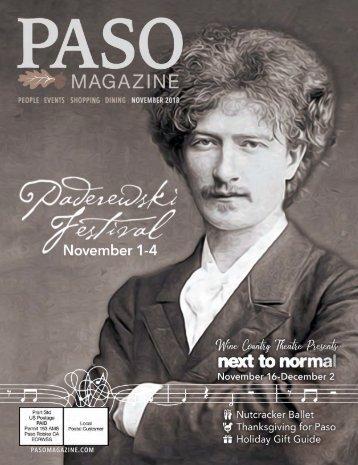 2018 November PASO Magazine