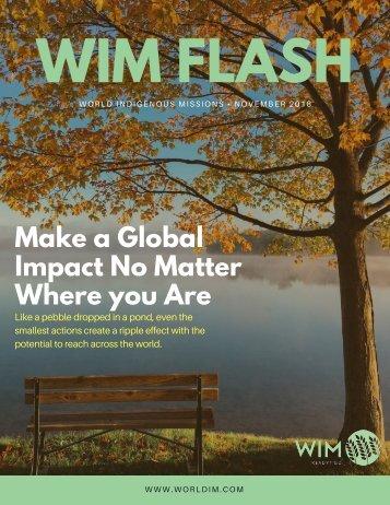 WIM Flash Magazine November 2018