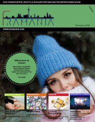 Framania Magazin Ausgabe November 2018