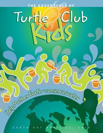 Turtle Club Kids - Earth Day 2018
