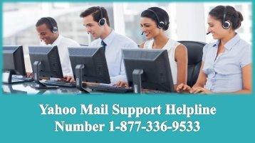 Yahoo Mail Support Helpline Number 1-877-336-9533