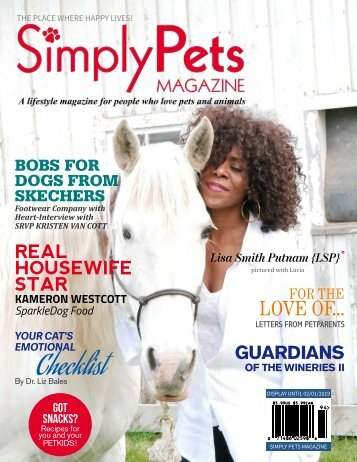 Simply Pets Magazine WINTER / NEW YEAR 2019 ISSUE