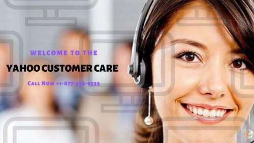 Yahoo Customer support number USA 1877-503-0107 Toll-Free