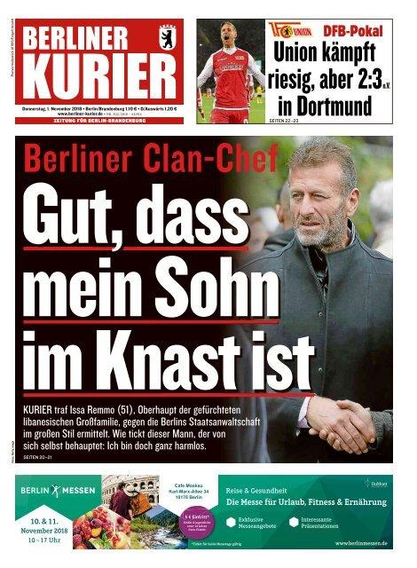 Berliner Kurier 01.11.2018