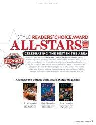 Readers' Choice Award All-Stars 2018