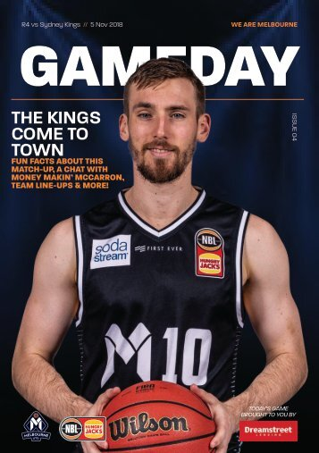 Gameday program - Round 4 FINAL