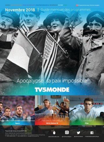 Guide des Programmes TV5MONDE Asie (Novembre 2018)