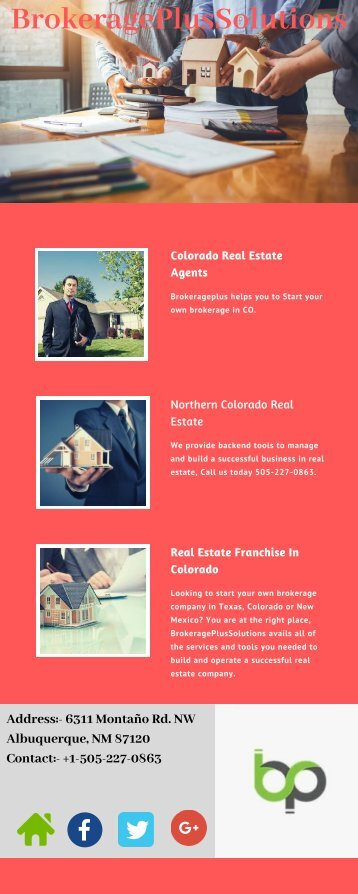 Real Estate Brokerage Colorado