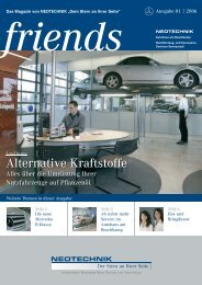 Alternative Kraftstoffe - Neotechnik Göthe & Prior GmbH & Co. KG