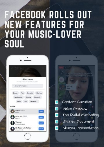 Facebook Rolls Out New Features for Your Music-Lover Soul (1)