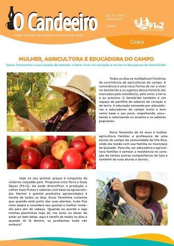 MULHER, AGRICULTORA E EDUCADORA DO CAMPO