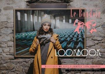 Le Boudoir / LookBook Automne-Hiver