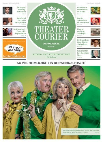 TheaterCourier November/Dezember 2018