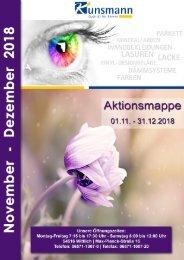 Aktionsmappe November - Dezember 2018