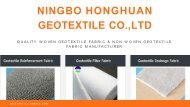 Purchase Non Woven Geotextile Fabric in Affordable Rates