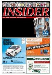 INSIDER Osnabrück + jobinsider // Nov 2018 // No. 424