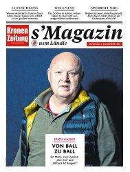 s'Magazin usm Ländle, 4. Oktober 2018