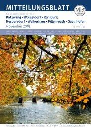 Nürnberg-Worzeldorf/Kornburg/Katzwang - November 2018