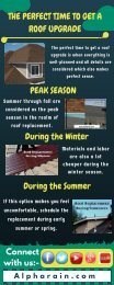 Advantage of Upgrading Roof During Winters
