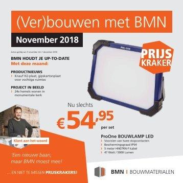 BMN krant - bouwen met bmn > doen we. Editie november 2018