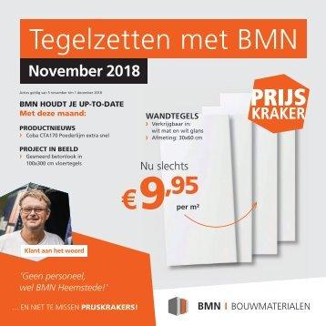BMN krant - tegelzetten met bmn > doen we. Editie november 2018