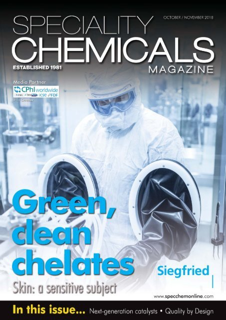 Speciality Chemicals Magazine October_November 2018