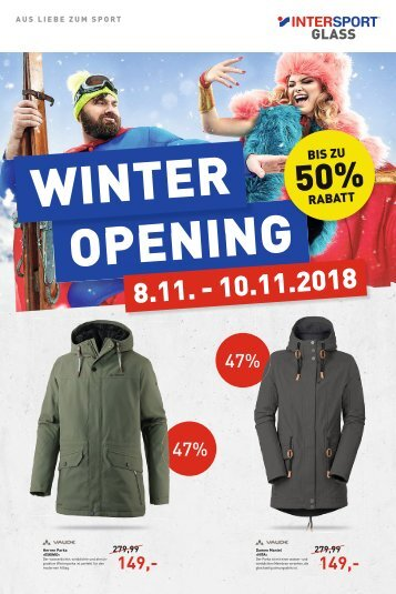 Intersport Glass - 07.11.2018