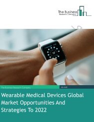 Wearable Medical Devices Global Market Opportunities And Strategies To 2022